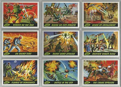 """Mars Attacks Heritage - """"Deleted Scenes"""" Set of 10 Chase Cards #1-10"""