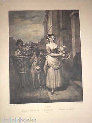 Cries of London c1880 Turnips & Carrots Hildesheimer Antiquarian Engraving/Print