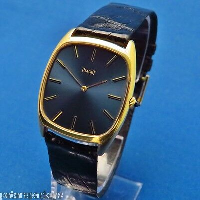 Piaget 18Ct Gold Vintage Hand Wind Mechanical Wristwatch 9591