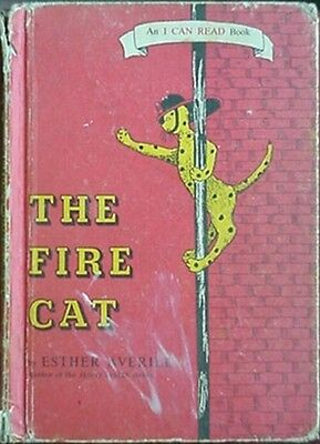 Fire Cat, 1960 Kids Book (Pickles The Firehouse Cat