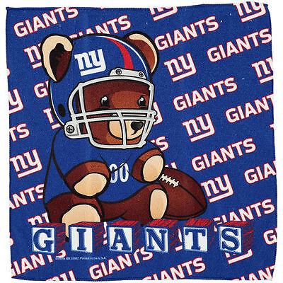 New York Giants WinCraft Infant Burp Cloth - NFL