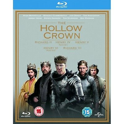 The Hollow Crown - Series 1-2 Blu-ray Brand New