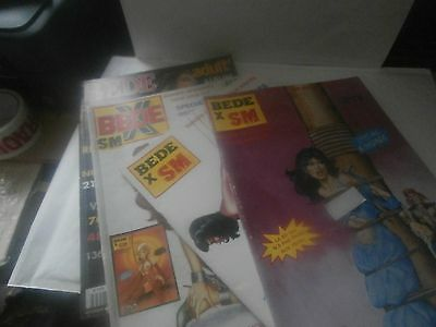 MIXED FRENCH ADULT GRAPHIC NOVELS,COMIC  BEDE  No. 76/79/49/100   SOFT COVERS