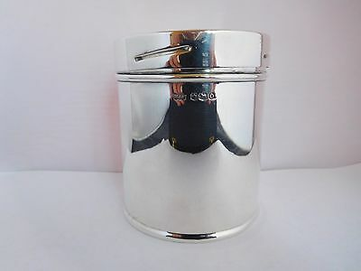 Extremely Rare W.d.h. & O. Wills English Solid Silver Tobacco / Cigarette Tin