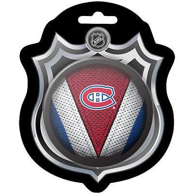 Montreal Canadiens Sher-Wood Stitch Hockey Puck - NHL