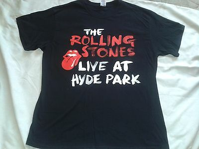 The Rolling Stones Live At Hyde Park Band Tshirt T-Shirt
