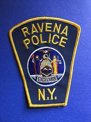 Ravena New York  Police Shoulder Patch