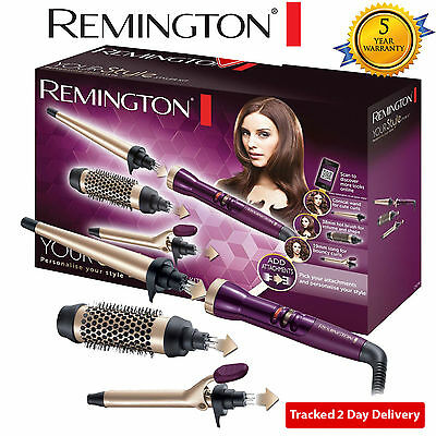 Remington CI97M1 Your Style Styler Kit Hot Brush Tong Conical Wand Starter Kit