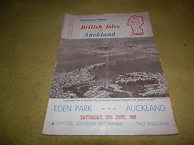 British Isles (Lions) v Auckland - International Rugby at Eden Park in 1959