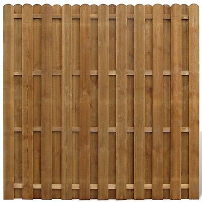 New Wooden Hit/Miss Garden Fence Panels Boarder Lawn Palisade Edge Patio Fencing