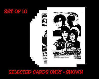 THE DAMNED -  Posters & Promos etc - POSTCARD SET # 1