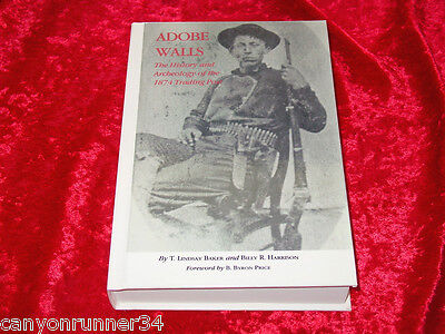 ADOBE WALLS History Book~1874 Trading Post~Billy Dixon~H/C Sharps Library Ed.