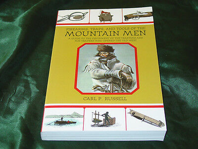 Firearms Traps & Tools of the Mountain Men Book-480 Pgs.-Trappers & Fur Traders