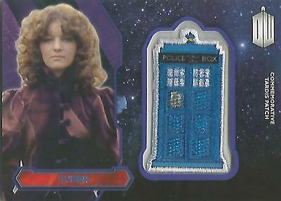"Topps Doctor Who 2015 - ""Nyssa"" PURPLE Tardis Patch Card #99/99"