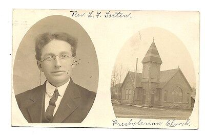 s153 PC RP Presbyterian Church Oakesdale WA How China Collection Got To Maine