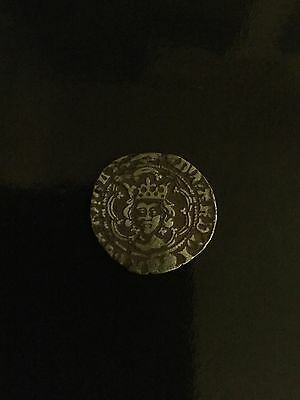 Edward Iv Half Groat Canterbury Mint Saltaires At Neck Hammered Silver Coin
