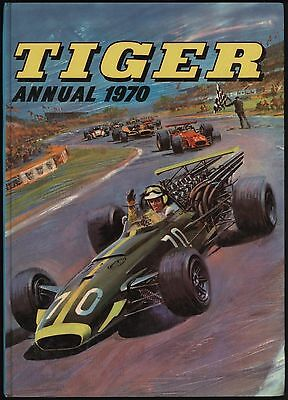 25% Off!tiger Annual 1970 10/6 Price Tag Intact Original Owner Copy - Mine! Nice