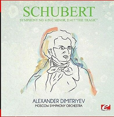 Schubert - Symphony No. 4 in C Minor D.417 the Tragic [New CD] Manufactured On D