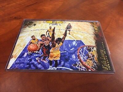 "KYLE LOWRY 2015-16 Panini Court Kings 5""x7"" Box Topper RAPTORS Insert #3"
