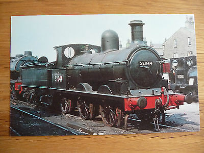 Vintage Salmon 'Cameracolour' postcard of Class 25 (LMS 2F) steam locomotive