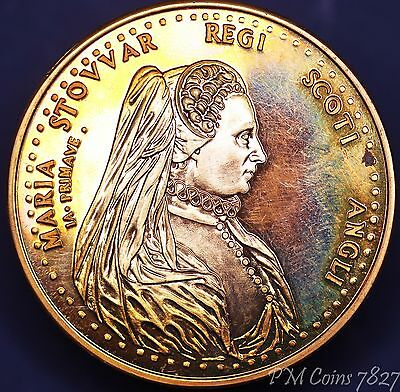 Tower Mint Medal Mary Queen of Scots Bronze 45mm [7827]