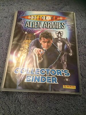 Doctor Who - Alien Armies Collection of Cards in Binder / Part Set