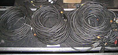 50ft 12/3 AWG 20A Bates Stage Pin Wire Cable SOW SOOW 50'