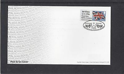GB 2016  Post & Go Royal Navy Battle of Jutland Union Flag 1st Class FDC BFPS