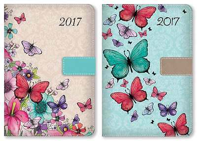 Butterfly Planner Diary A5 2017 Art General Diaries Page A Day
