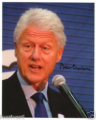 BILL CLINTON Signed Photograph - former US President