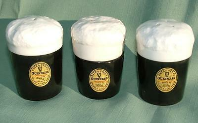 Vintage Guinness Extra Stout Japanese China Salt Pepper & Mustard Pots - Lot 3