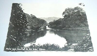 A Real B/W Photograph postcard,RP, KILLARNEY, County Kerry, Ireland, Posted 1957