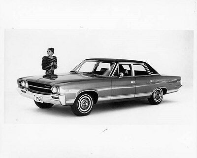 1969 AMC Ambassador ORIGINAL Factory Photo oad7680-MKEY6R