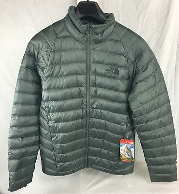 New The North Face Trevail Jacket Down Insulated Fusebox Grey S - Xxl 700  Fill d805e8c14
