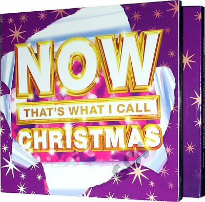 Now That's What I Call Christmas Music Songs 3 CDs Of Xmas Tracks New Sealed