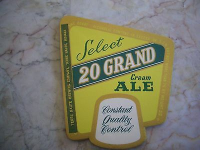 25  Vintage Select Grand Cream Ale Beer Labels Terre Haute, Indiana