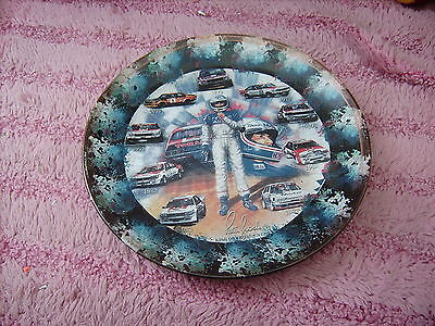 Peter Brock  All His Cars       On A Decoupage  Plate