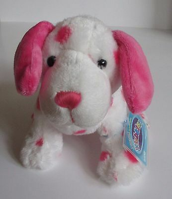 WB3 Pink Dalmatian dog WEBKINZ PLUSH new code