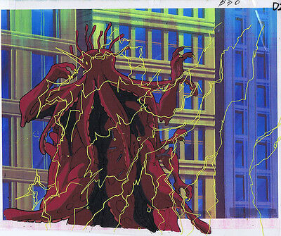The Real Ghostbusters Original Production Animation Cel & Copy Bkgd #A13273