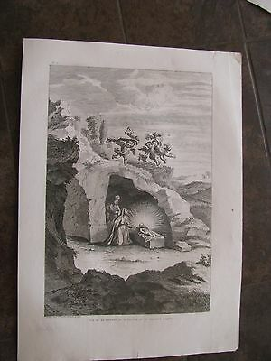 1820 ORIGINAL View Birth of Christ & Holy Family, Palestine, Holy Land