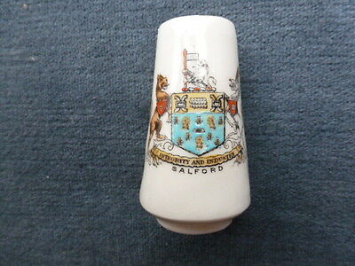 Crested Ware Pill Vase Salford