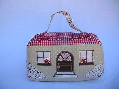 Home Sweet Home Shabby Country Gingham House Door Stop Stopper