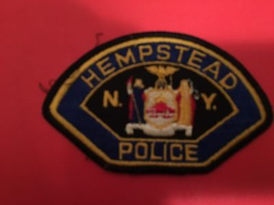 Hempstead  New York  Police   Patch  Used