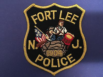 Fort Lee New Jersey Police  Shoulder Patch  Used