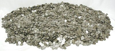 $500 face value Mercury Dimes (5,000 dimes) 90% Silver - FREE shipping