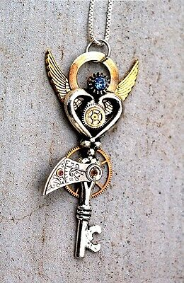 25 wedding 3 colors New old look antique keys vintage jewelry steampunk ,craft