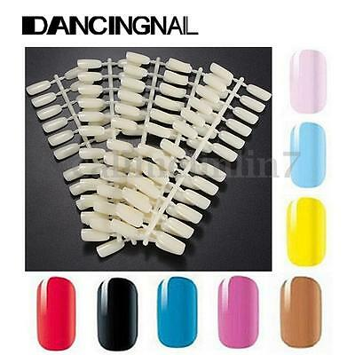 120 Tips Practice Nail Art Polish DIY Display Colour Chart Palette Card Manicure