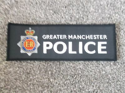 Greater Manchester Police Embroidered Logo Retro
