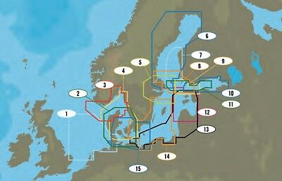 C-Map NT+ WIDE AREA Chart  Baltic Sea, G. of Bothnia & Finland