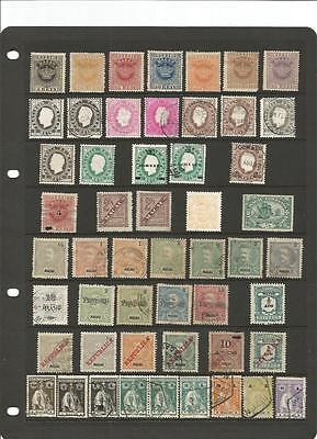 MACAU: interesting collection of used/unused stamps from early!